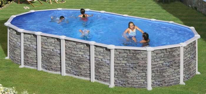 Piscine e accessori piscina fuori terra gre ovale in - Accessori piscina fuori terra ...
