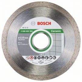 Disco Diamantato Standard for Ceramic Ø115mm - Bosch