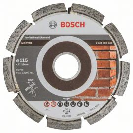 Disco Diamantato per Fughe 6.0mm Ø115mm - Bosch