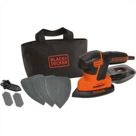 Levigatrice Mouse 120W + Accessori - Black+Decker