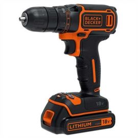 Trapano/Avvitatore 18V Litio in valigetta - Black+Decker