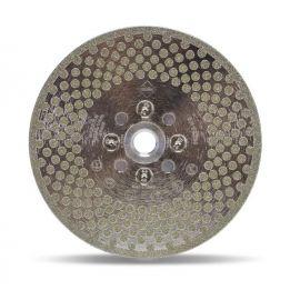 Disco Diamantato Taglio e Smeriglio - Rubi 2 in 1 ECD